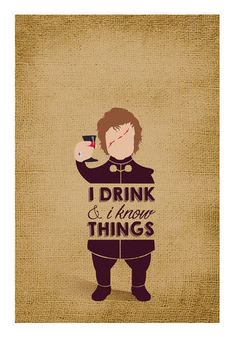 Tyrion Lannister | Game of Thrones Wall Art | Artist : Neha Karnik