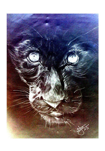 The Chrome Panther Art PosterGully Specials