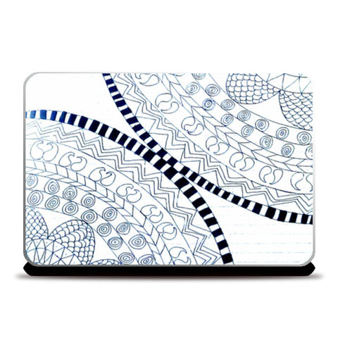 Symme3 (Doodle All The Way!) Laptop Skins | Artist : Hansika Sachdeva