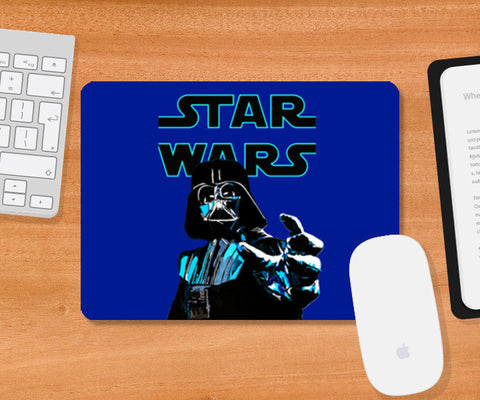 Darth Vader, Star Wars illustration Mousepad | Artist : Aninya Gangal