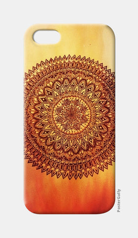 Fiery Mandala iPhone 5 Cases | Artist : Susrita Samantaray