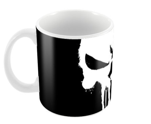 Punisher Skull Spray Paint Coffee Mugs | Artist : Lobo Coffee Mugs | Artist : Lobo