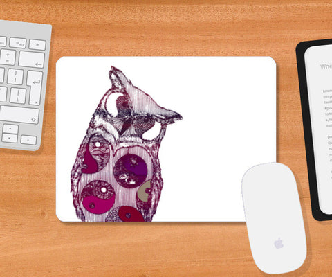 owl i want  Mousepad | Artist : cold kid