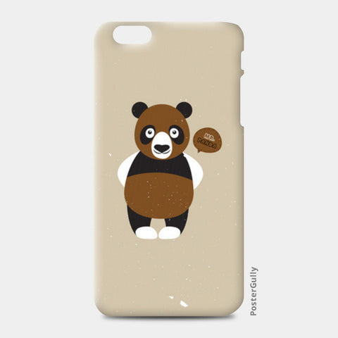 Mr.Panda iPhone 6 Plus/6S Plus Cases | Artist : Designerchennai