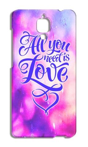 All you need is Love Xiaomi Mi-4 Cases | Artist : Vaishak Seraphim