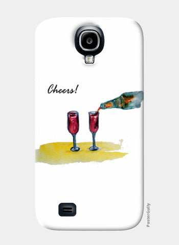Samsung S4 Cases, Cheers! Samsung S4 Case I Artist: Seema Hooda, - PosterGully