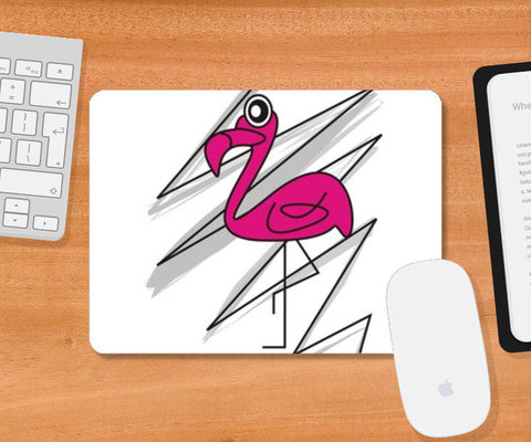 PINK ALERT! Mousepad | Artist : mytablecreations