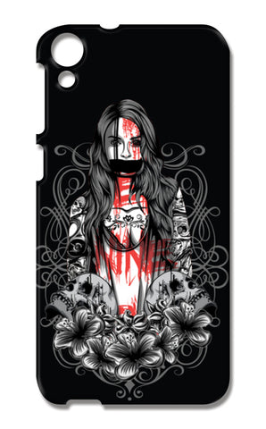 Girl With Tattoo HTC Desire 820 Cases | Artist : Inderpreet Singh
