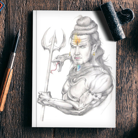 Lord Shiva Notebook | Artist : Rishabh Dev Sharma