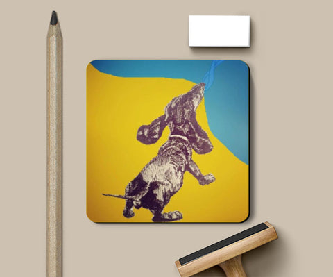 Coasters, Droopiness I Ink Trails Coaster | Artist: Archana Narendran, - PosterGully