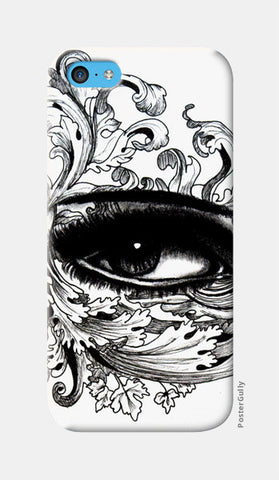 Eye Doodle iPhone 5c Cases | Artist : Rahul Tanwar