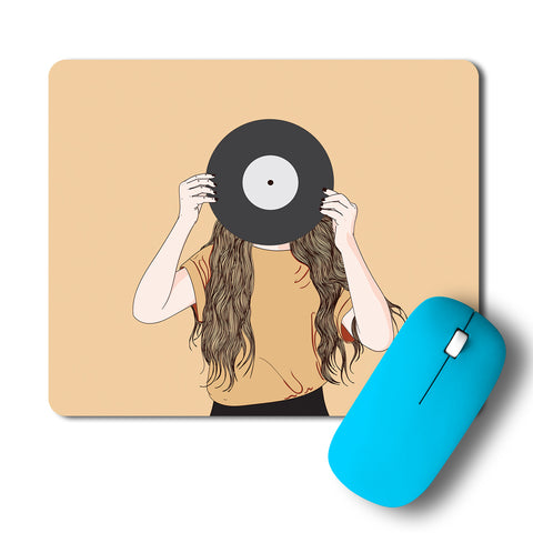 Music In Antiquity Minimal Artwork Mousepad