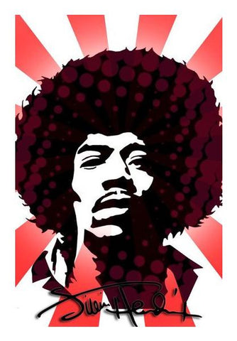 Jimi Hendrix Acid Wall Art PosterGully Specials