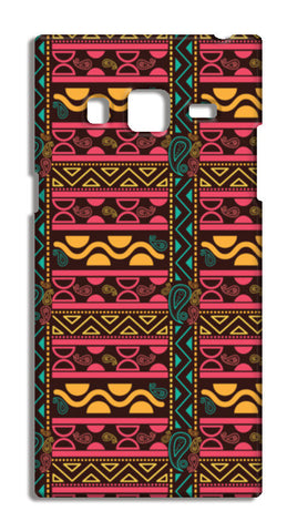 Abstract geometric pattern african style Samsung Galaxy Z3 Cases | Artist : Designerchennai