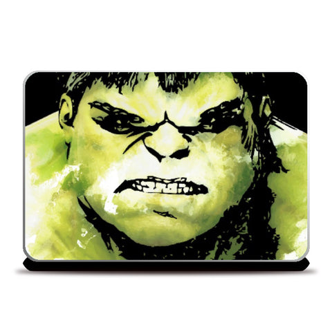 Laptop Skins, The Incredible Hulk Movie Comic Character Laptop Skin Artwork | Artist: Pulkit Taneja, - PosterGully