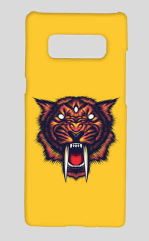 Saber Tooth Samsung Galaxy Note 8 Cases | Artist : Inderpreet Singh