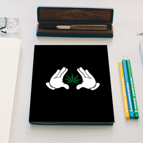 weed the need Notebook | Artist : cold kid