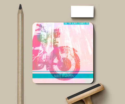 Coasters, Make it Happen Coasters | Artist : Kokila Bhattacharya, - PosterGully