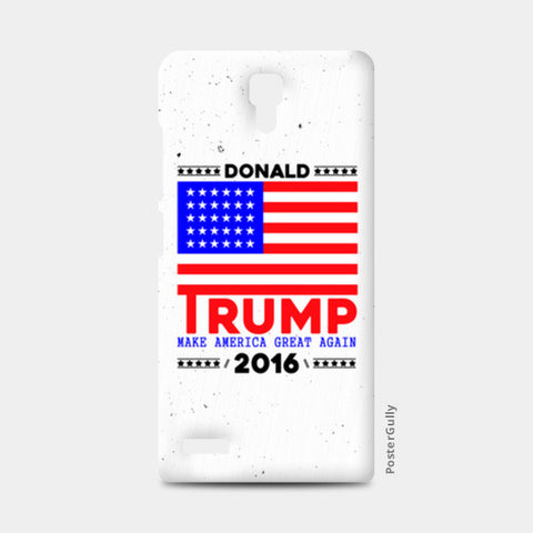 Donald Trump For President American Redmi Note Cases | Artist : Designerchennai