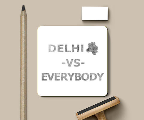 Coasters, DELHI VS EVERYBODY Coasters | Artist : Nitin Kapoor, - PosterGully