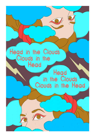 Clouds in the Head Wall Art | Artist : Vishali Bawa
