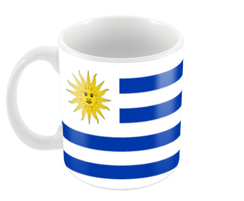 Uruguay | #Footballfan Coffee Mugs | Artist : Creative DJ