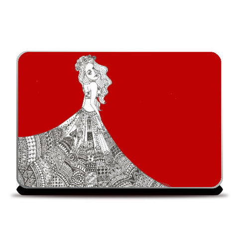 Laptop Skins, The Red carpet Laptop Skin | Artist: Surabhi Kuthiala, - PosterGully