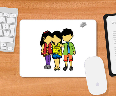 Mousepad, #GoggiGoggiEverywhere..!!! | Celebrating #TrueFriendship. Mousepad | Artist : Goggi's Doodles, - PosterGully