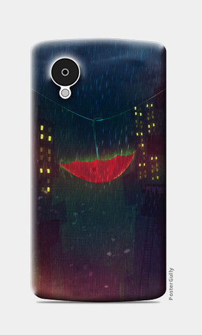 Night Rain Nexus 5 Cases | Artist : Aniket Mitra