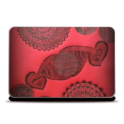 Laptop Skins, #Mandala#Colors# Laptop Skins | Artist : Divya Iyer, - PosterGully