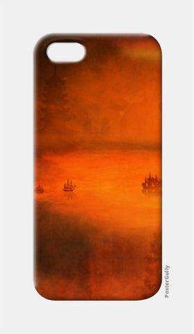 iPhone 5 Cases, TANGERINE TRANQUILITY iPhone 5 Case | Artist: Karthik Gowrisankar, - PosterGully