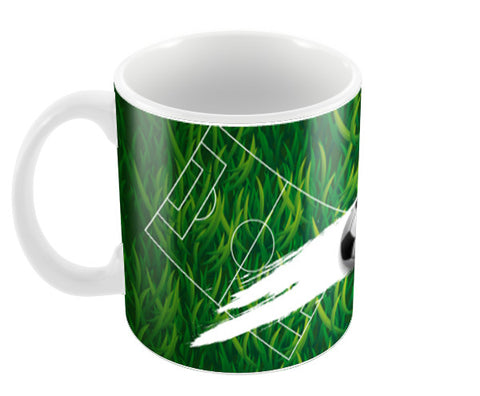 The One World Football | #Footballfan Coffee Mugs | Artist : Creative DJ