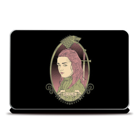 Laptop Skins, Arya Stark | Game of Thrones Laptop Skins | Artist : RJ Artworks, - PosterGully