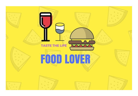 Food Lover Wall Art  | Artist : Pallavi Rawal