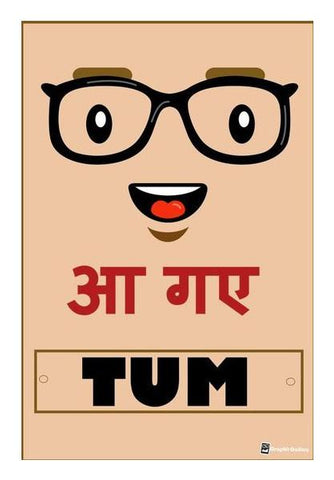 PosterGully Specials, aa gye tum Wall Art | Artist : Graphic Gallery | PosterGully Specials, - PosterGully