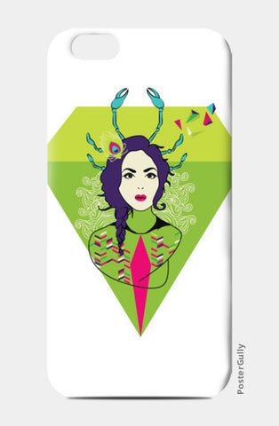 Diamond Girl iPhone 6/6S Cases | Artist : Manvi Kaushal
