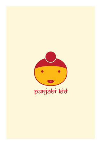 PosterGully Specials, Indian Punjabi Kid Wall Art | Artist : Mani Selvam, - PosterGully