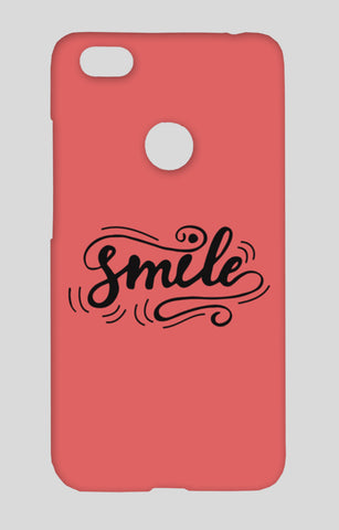 Smile Redmi Note 5A Cases | Artist : Inderpreet Singh