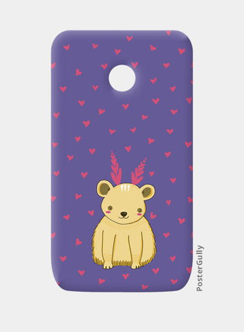 Cute Bear Pattern Moto E Cases | Artist : Prajakta Rao