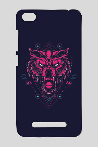 The Wolf Redmi 4A Cases | Artist : Inderpreet Singh