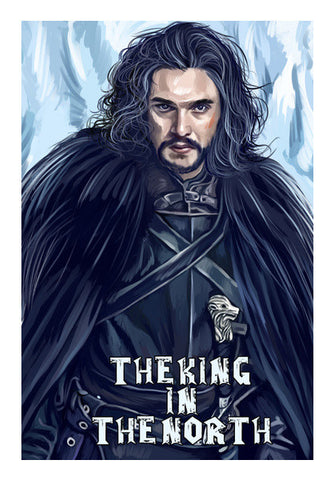the king in the north Wall Art | Artist : chaitanya kumar