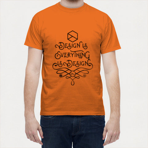 Men T Shirts, Design is Everything is Design Men T Shirts | Artist : Keepcalm Prints, - PosterGully - 1