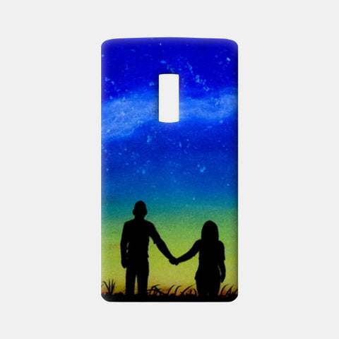 Sunset Love Painting One Plus Two Cases | Artist : Rahul Tanwar