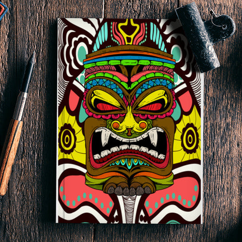 Tiki Monster Notebook | Artist : Pulkit Taneja
