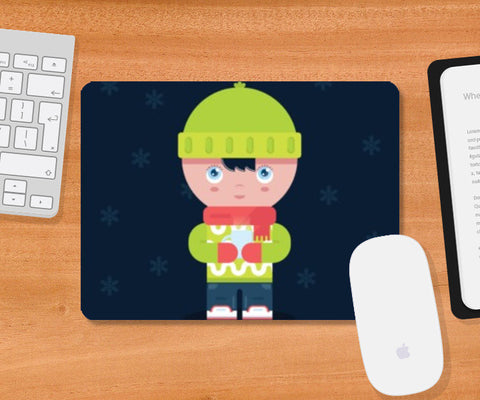 Mousepad, Cute Winter Times Mousepad | Artist : Arimit Bhattacharya, - PosterGully