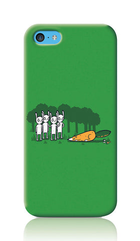 iPhone Cases, Cunning Green iPhone 5C Case | By Captain Kyso, - PosterGully