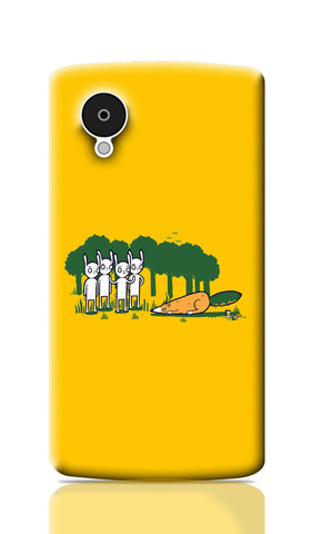 Nexus 5 Cases, Cunning Orange Nexus 5 Case | By Captain Kyso, - PosterGully