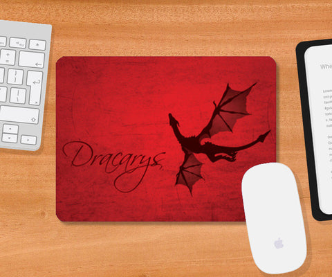 Mousepad, Dracarys Game of Thrones Mousepad | Artist : Kshitija Tagde, - PosterGully