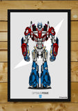 Brand New Designs, Project Optimus No Grunge Artwork | Artist: Siladityaa Sharma, - PosterGully - 2