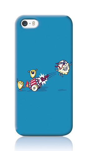 iPhone Cases, Evil Cornival Blue iPhone 5/5S Case | By Captain Kyso, - PosterGully